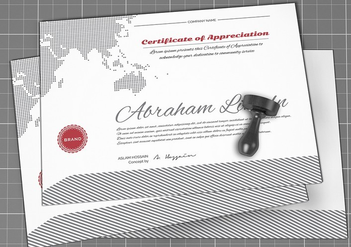 Free certificate mockup psd titanui yadclub Image collections