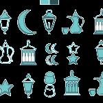 15 Ramadan Kareem Icons Vector