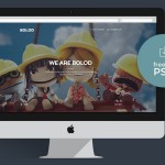 Bolod One Page PSD Template
