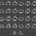 26 Vector Weather Icons