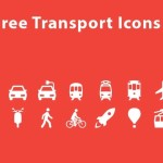 14 Vector Transport Icons