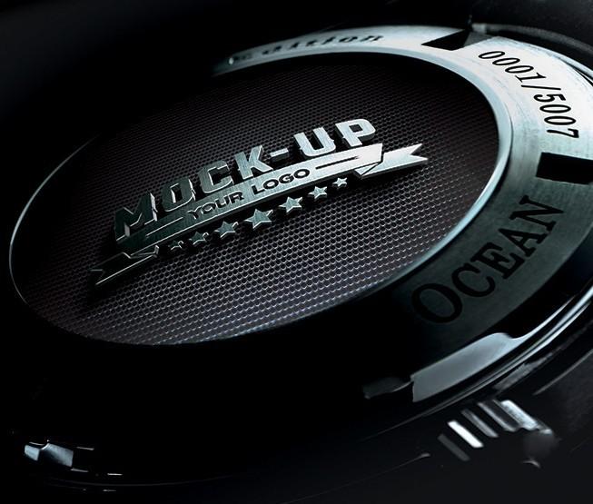 Back Watch Logo Mockup | Free PSD Mockup