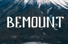 BEMOUNT Hand Written Font