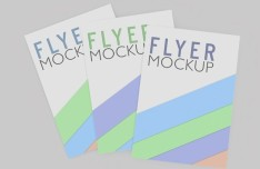 7 Photorealistic Flyer Mock-ups PSD