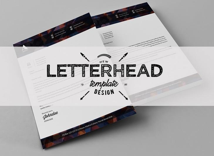 Letterhead template modern teacheng letterhead spiritdancerdesigns Image collections