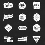 20 Ink Logos / Badges (PSD+Vector)
