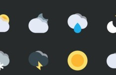 8 Minimal Weather Icons For Sketch