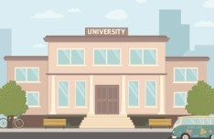 University Vector Illustration (AI+AEP)