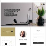 23 User Interface elements PSD