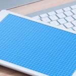 Photo Realistic iPad On Desk Mockup PSD