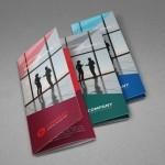 Corporate Tri-fold Brochure Templates PSD (3 Colors)