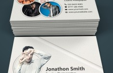 Modern Photography Business Card Templates PSD