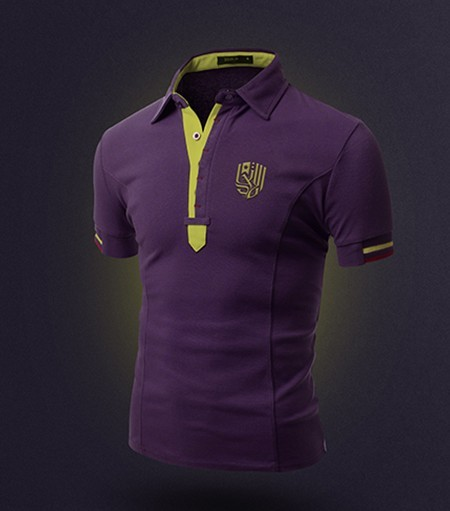 free realistic violet t shirt mockup psd titanui