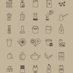 40 Coffee Store Vector Icons