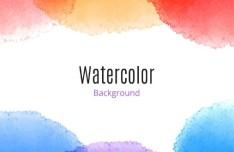 Creative Watercolor Background Vector