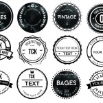 20 Vector Badge / Logo Icons