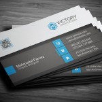 Print Ready High Resolution Corporate Business Card Template PSD