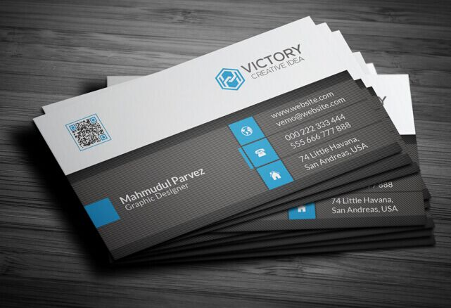 Free Print Ready High Resolution Corporate Business Card Template PSD