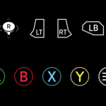 Xbox One Controller Buttons PSD