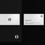 Minimal Realistic Business Card Mockup PSD