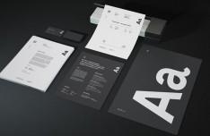 Identity Branding Stationery Mockups