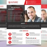 Fully Editable Corporate Business Flyer PSD Template
