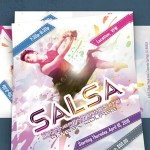 Customizable Dance Flyer PSD Template