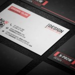 Creative Business Card Templates (Dark and White) PSD