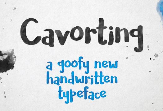 World Of Dance Font: Handwriting Watercolor Font