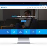 Smiley – Responsive Material Design Template PSD
