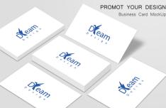 Dream – Minimal Clean Business Card Template