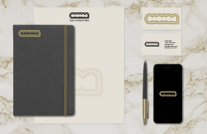 Vintage Branding and Stationary Mockup PSD