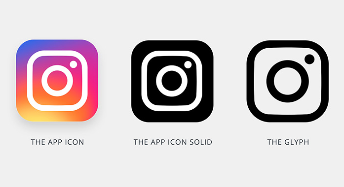 Free Instagram New App Icon Template PSD - TitanUI