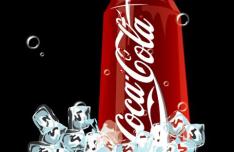 Coca Cola Ice Vector