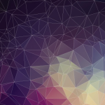 Elegant Particle & Geometric Background Vector #3