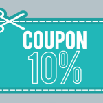 10% Coupon Vector