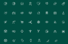 35+ Medical Icons (EPS+PSD)
