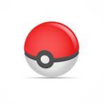 Pokemon Go Ball Icon Vector
