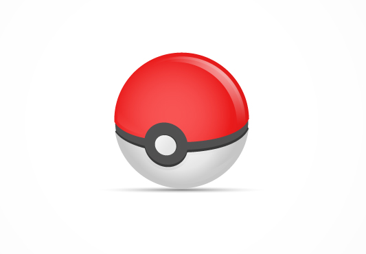 free pokemon go ball icon vector - titanui