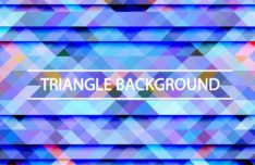Gradient Triangle Vector Background 09