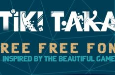 Tiki Taka Typeface