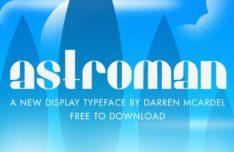 Astroman Font