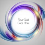 Colorful Abstract Spiral Vector Background #4