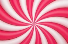 Pink / White Swirl Vector