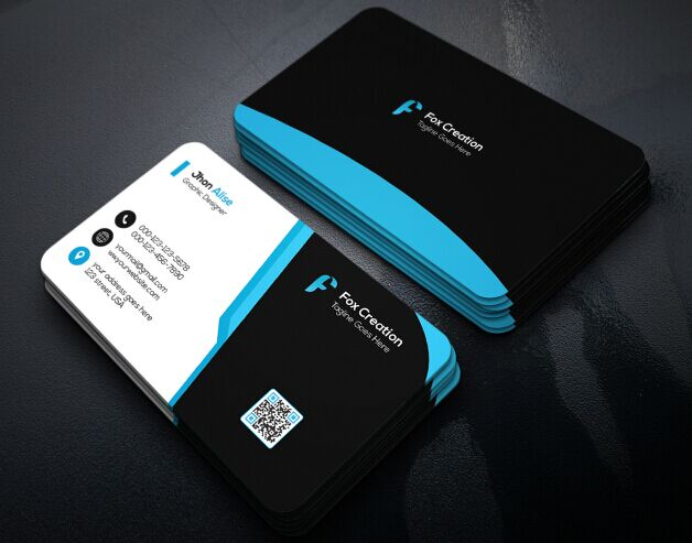 Free Creative Business Card Design PSD
