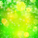 Bokeh Snowflake Vector Background #3