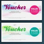 Voucher card psd