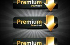 dark-premium-download-buttons-vector