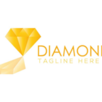 Gold Diamond Logo / Insignia Vector #1