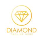 Gold Diamond Logo / Insignia Vector #3